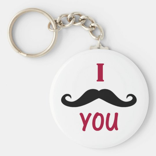 I Must Have You Keychain