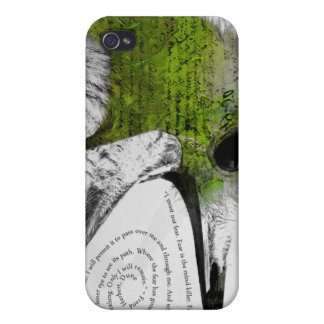 I Must Not Fear - Green Case For iPhone 4