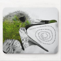 I Must Not Fear - Green Mouse Pad
