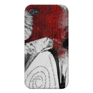 I Must Not Fear - Red Cases For iPhone 4