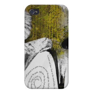 I Must Not Fear - Yellow iPhone 4 Cases