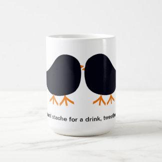 I Must Stache for a Drink, Tweetheart Mug