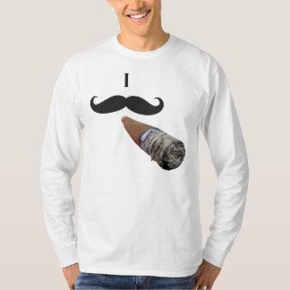I Mustache - I must ash T-Shirt