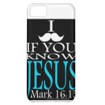 I Mustache if You Know Jesus iPhone 5C Cover