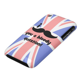 I mustache you a bloody question iPhone 3 Case-Mate case