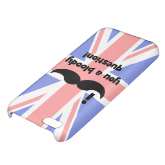 I mustache you a bloody question iPhone 5C case