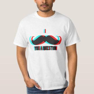 I Mustache You A Question 3D T-Shirt