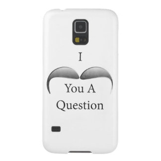 I Mustache You A Question Galaxy S5 Cover