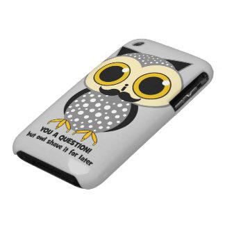 I mustache you a question Case-Mate iPhone 3 case