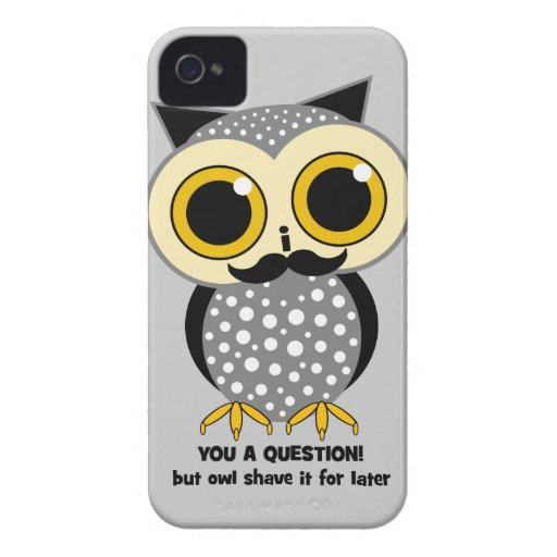 I mustache you a question Case-Mate iPhone 4 case