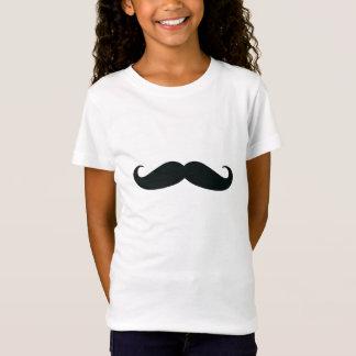 I Mustache you a question Girls Tshirt