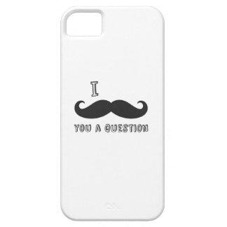 I mustache you a question I Love Mustache shop iPhone 5 Cases