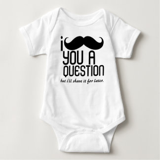 I Mustache You a Question Infant Creeper