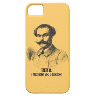 I Mustache You A Question - iPhone 5 Design iPhone SE/5/5s Case