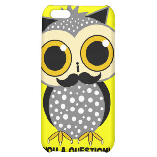 I mustache you a question iPhone 5C cover