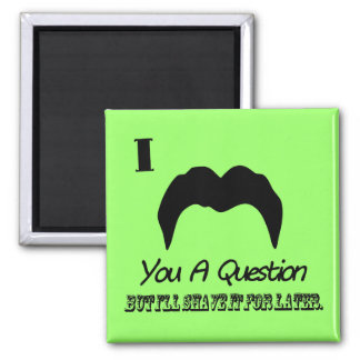 I Mustache You A Question Magnets