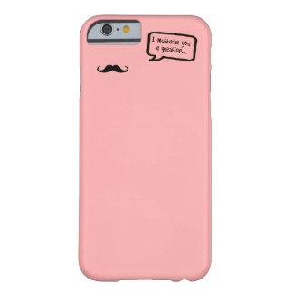 i mustache you a question mini pink iPhone 6 case