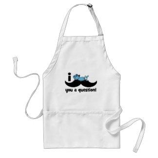 I mustache you a question mouse adult apron