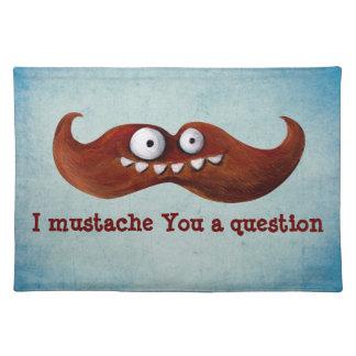 I Mustache You A Question Placemats