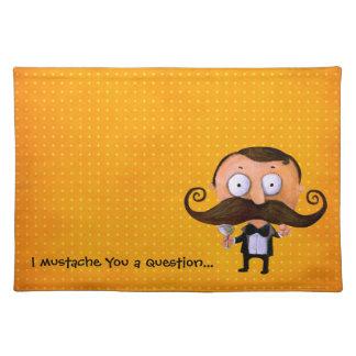 I Mustache You A Question Placemat