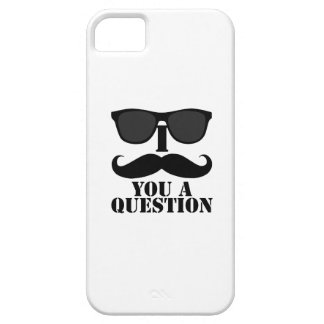I Mustache You a Question Sunglasses iPhone 5 Cases
