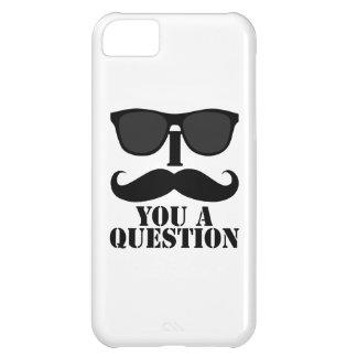 I Mustache You a Question Sunglasses iPhone 5C Case