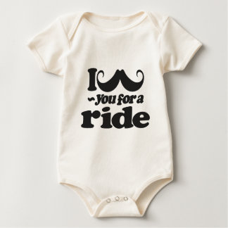 I Mustache You for a Ride Baby Bodysuit