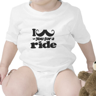 I Mustache You for a Ride Baby Creeper