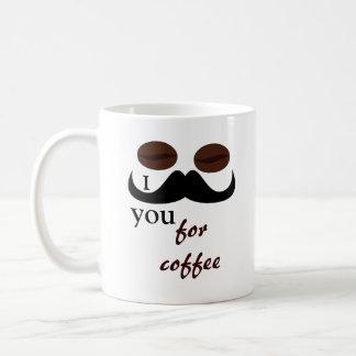 I mustache you for coffee mug