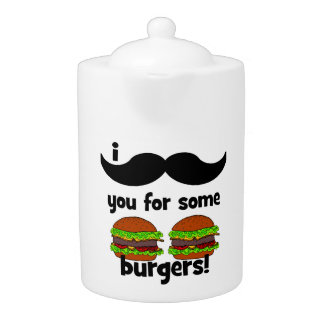 I mustache you for some burgers!