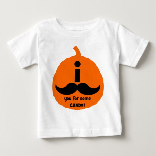 I mustache you for some candy baby T-Shirt