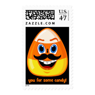 I mustache you for some candy postage