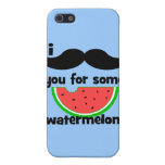 I mustache you for some watermelon! case for iPhone 5