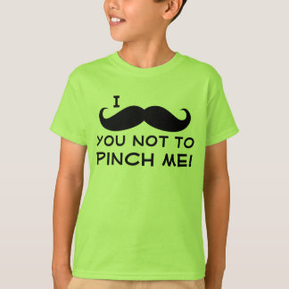 I Mustache You Kid's St. Patrick's Day T-Shirt