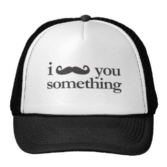i mustache you something hat