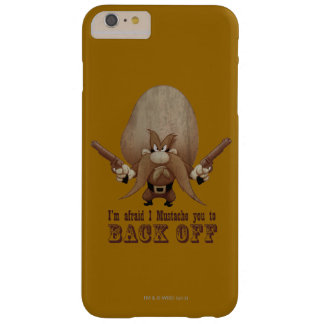I Mustache You To Back Off Barely There iPhone 6 Plus Case