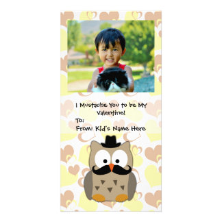 I Mustache You to be My Valentine Kids Card