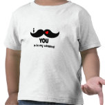 I mustache you to be my valentine! shirts