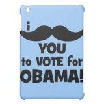 I mustache you to vote for Obama iPad Mini Case