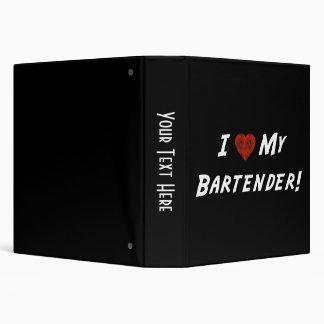 I ♥ My Bartender! Binder