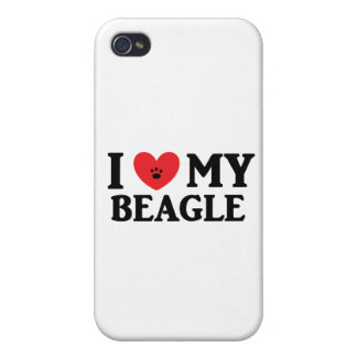 I ♥ My Beagle Cover For iPhone 4