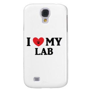 I ♥ My Lab Galaxy S4 Cover