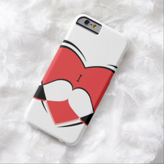 I / Name/ Heart Love Mustache Barely There iPhone 6 Case