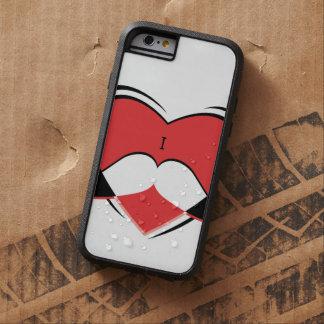 I / Name/ Heart Love Mustache Tough Xtreme iPhone 6 Case