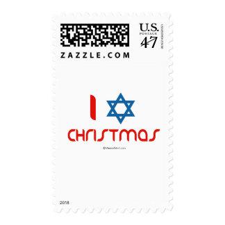I navidad de Jánuca Timbres Postales
