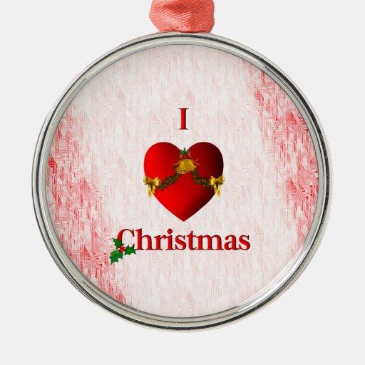 I navidad del corazón ornamentos de reyes magos
