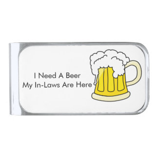 I Need A Beer Money Clip