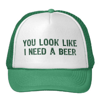 I Need A Beer Trucker Hat