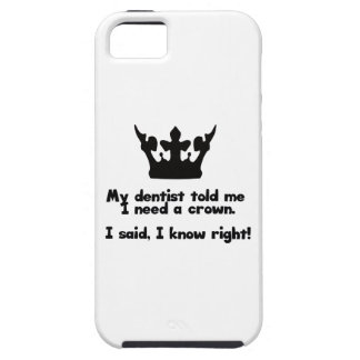 I Need A Crown iPhone SE/5/5s Case