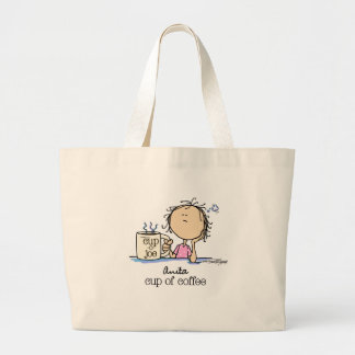 I Need A Cup of Coffee Canvas Bags